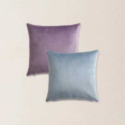 Suede Leather Pillowcase Home & kitchen LIFEASE