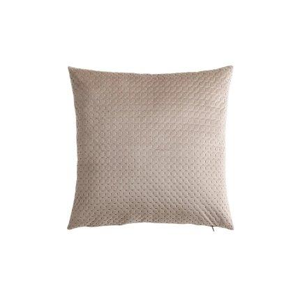 Suede Leather Pillowcase Home & kitchen LIFEASE Khaki (pillow only)