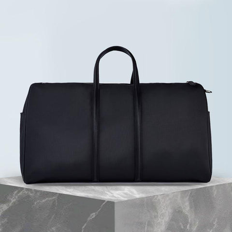 Synthetic Leather Business Tote Black for Men Apparel shoe bag LIFEASE