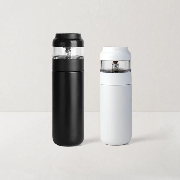 Tea Infuser Stainless Steel Insulated Tea Bottle Home & kitchen LIFEASE