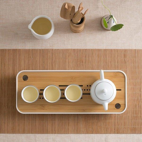 Tea Set & Draining Tray Combo Value Pack Lifease