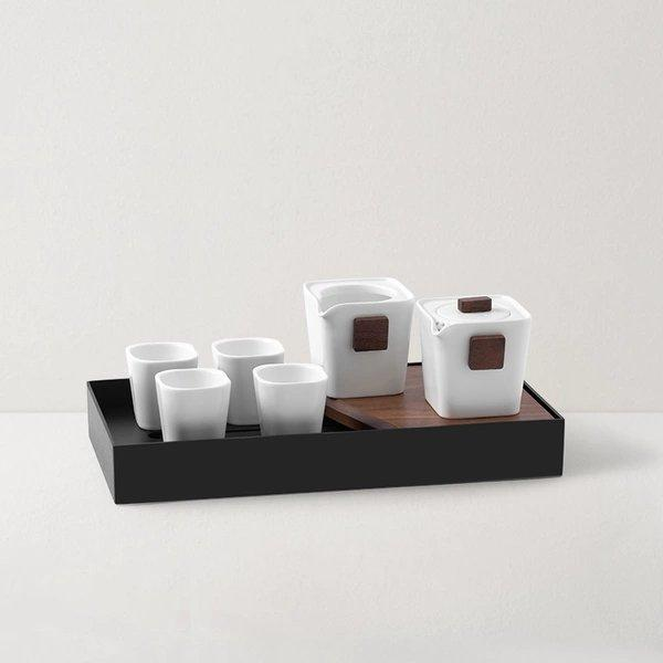 Tea Set with Tea Tray Gift Box Home & kitchen LIFEASE