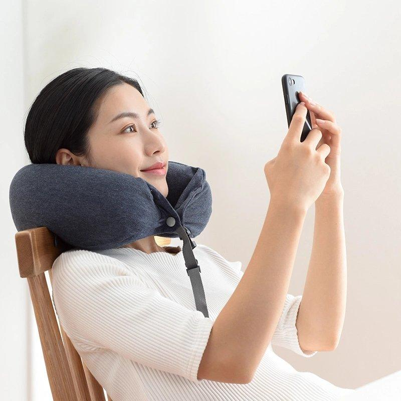 Travel Pillow - with Firm Durable Memory Foam Sports & Travel Lifease