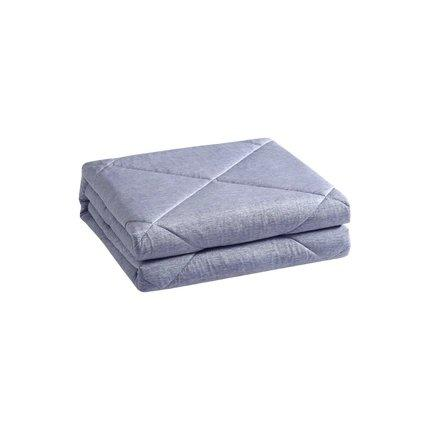 Ultra Cooling Double-sided Summer Cool Comforter - Machine Washable Home & kitchen LIFEASE Blue 59''x78.7''