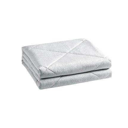 Ultra Cooling Double-sided Summer Cool Comforter - Machine Washable Home & kitchen LIFEASE Grey 78.7''x90.5''