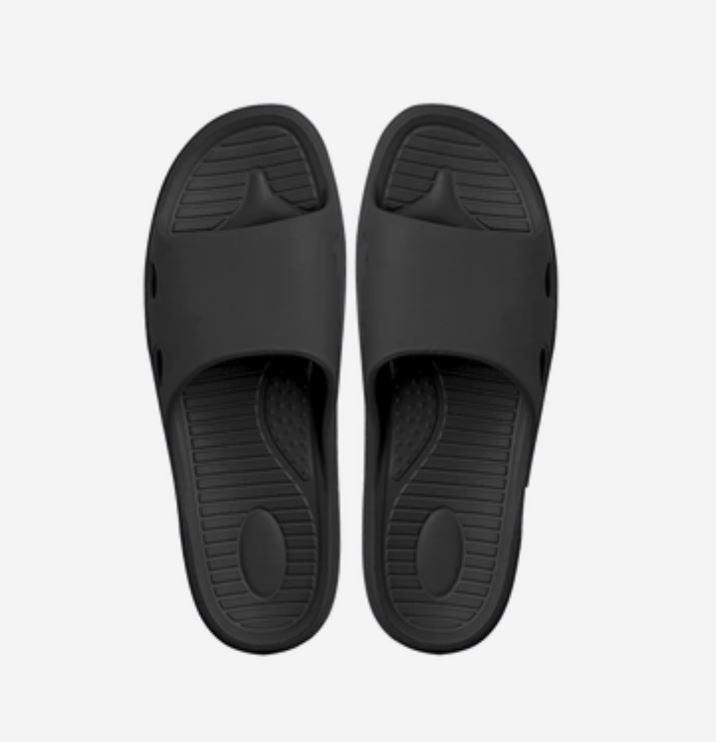 Unisex Non-Slip Home Slippers - Multiple Colors Home & kitchen LIFEASE Black Men 10-11.5