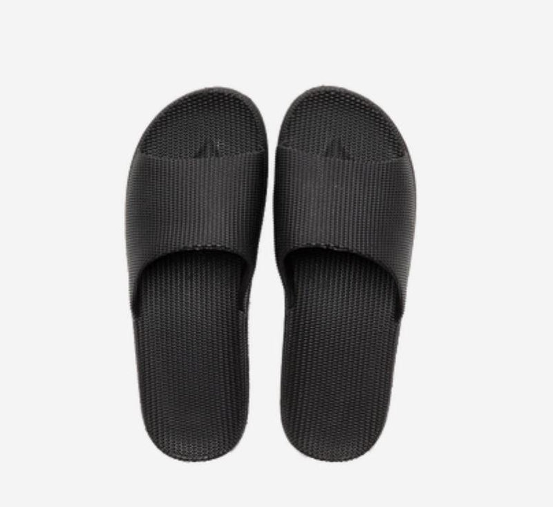 Unisex Open Toe House Slippers - Multiple Colors Home & kitchen LIFEASE Black Men 10-11.5
