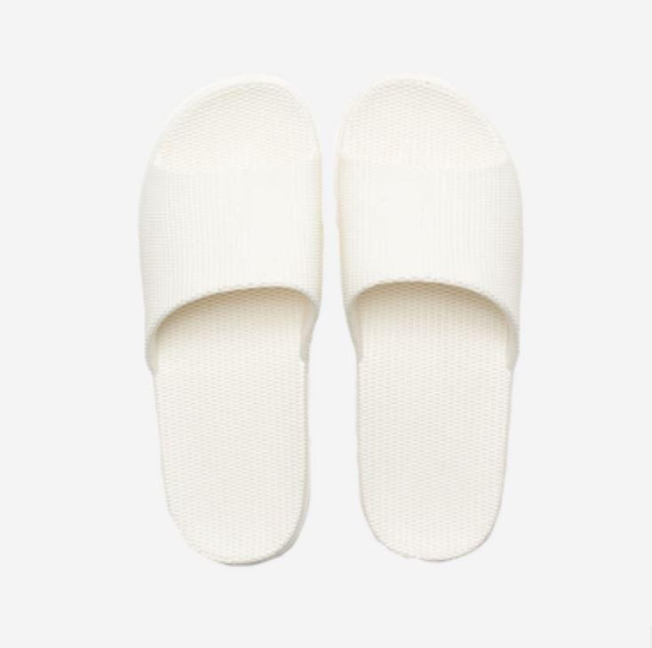 Unisex Open Toe House Slippers - Multiple Colors Home & kitchen LIFEASE White Women 4-5.5
