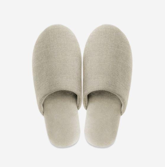 Unisex - Soft Home Slippers with Textile Fabric - Multiple Colors Home & kitchen LIFEASE Beige M (38-39)