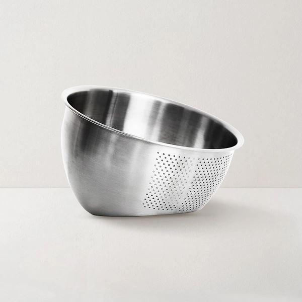 Wash & Strain Dual-Use Bowl Home & kitchen LIFEASE