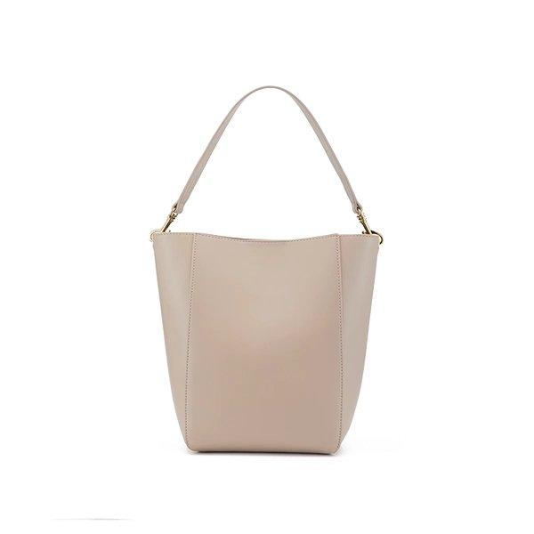 Women's Basic Tote Bag Apparel shoe bag LIFEASE Beige