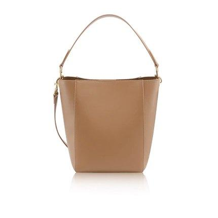 Women's Basic Tote Bag Apparel shoe bag LIFEASE Caramel
