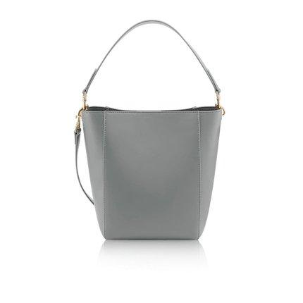 Women's Basic Tote Bag Apparel shoe bag LIFEASE Grey
