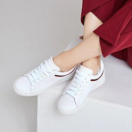 Women's Casual Leather Skateboard Shoes Apparel shoe bag LIFEASE