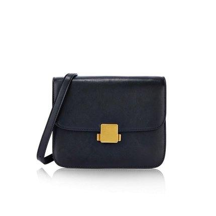 Women's Classic Retro Leather Small Purse Apparel shoe bag LIFEASE Black