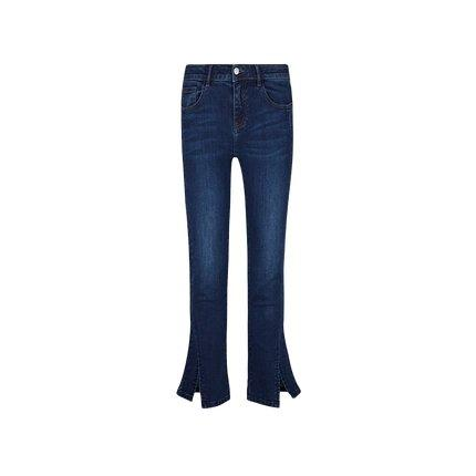 Women's Cropped Flare Jeans Apparel shoe bag LIFEASE Blue 26
