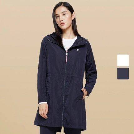 Women's Long Sports Windbreaker Jacket Apparel shoe bag LIFEASE