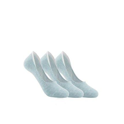 Women's No-Show Socks Apparel shoe bag LIFEASE Green 3 pack
