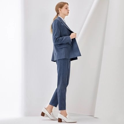 Women's Striped Suit - Lifease
