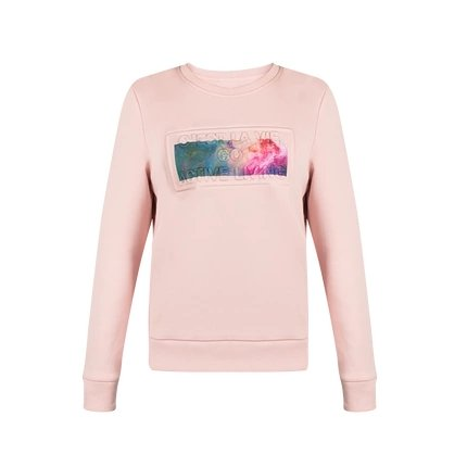 Women's Sweatshirt with Printed Galaxy - Lifease