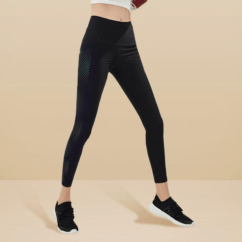 Women's Ultra Soft Reflective Fashion Leggings - Lifease
