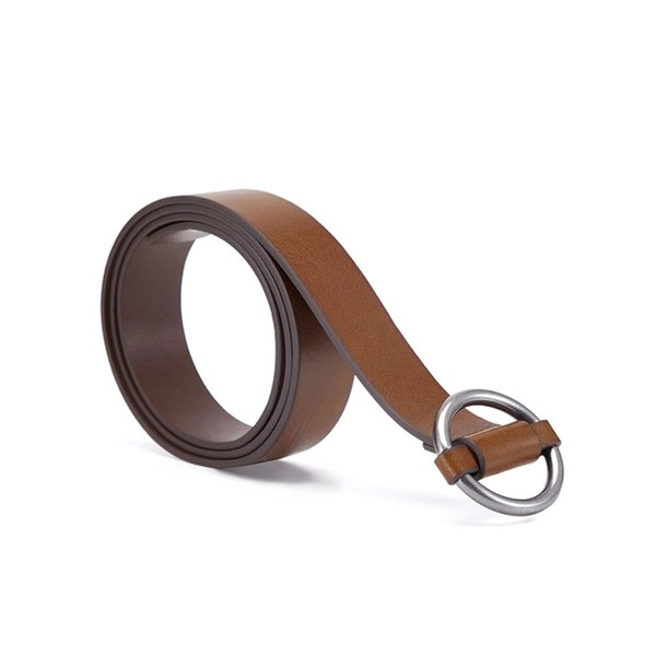 Women's Vintage Style Round Buckle Belt - Lifease