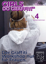 Laden Sie das Bild in den Galerie-Viewer, Girls do Graffiti | Workshop Teilnahme