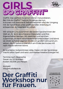 Girls do Graffiti | Workshop Teilnahme
