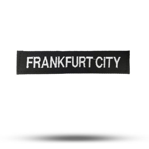 FRANKFURT CITY | Black | State of Mind Patch