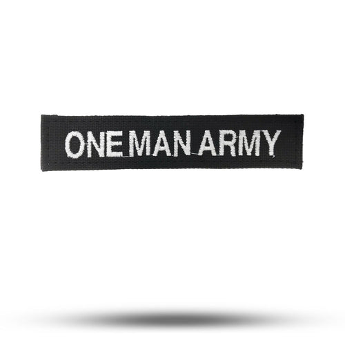 ONE MAN ARMY | State of Mind Patch