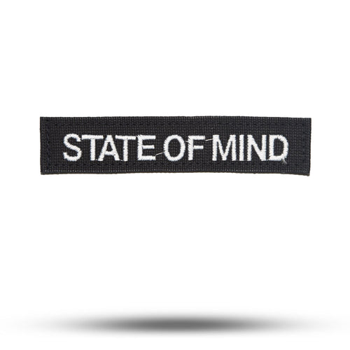STATE OF MIND | BLACK | State of Mind Patch