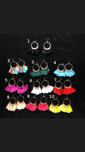 Earrings - Tassle