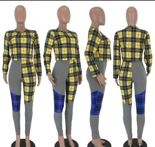 So Plaid 2Pc