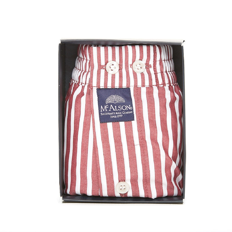 M0232 - Striped burgundy