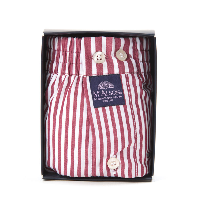 M0233 - Striped burgundy