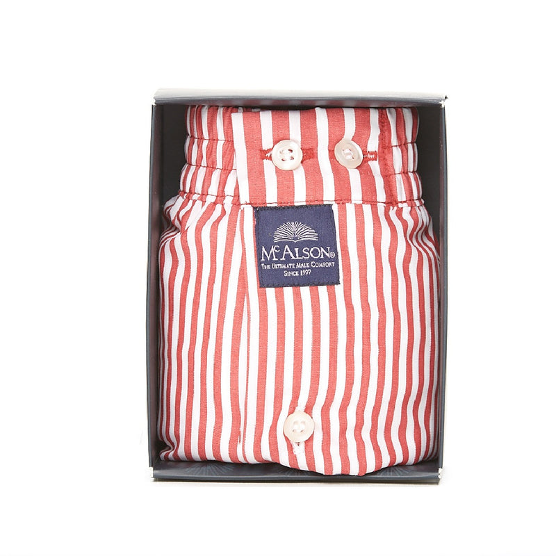 M0237 - Striped red
