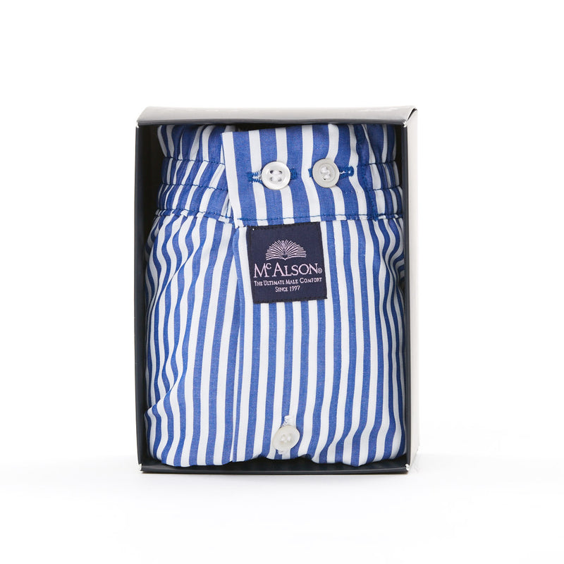 M0241 - Striped royal blue