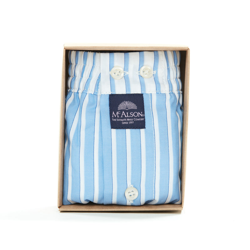 M1306 - Striped blue & white