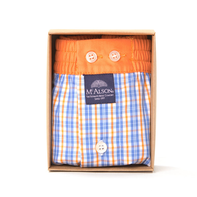 M4106 - Checkered blue & orange