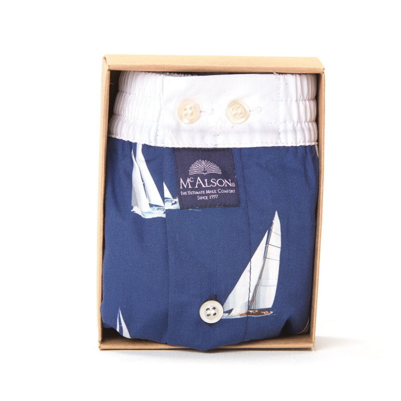 M4141 - Sailboat blue