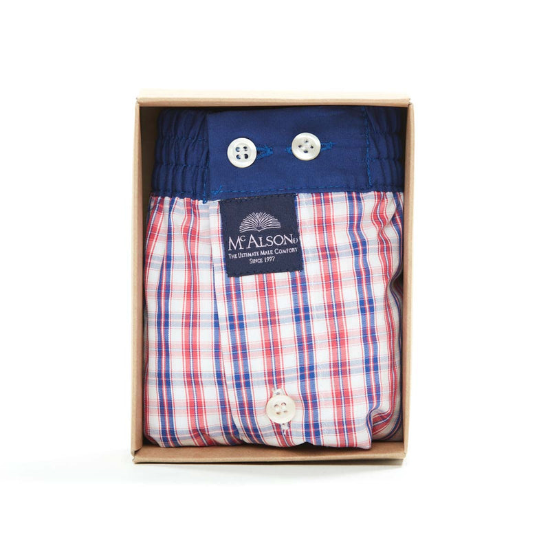 M4319 - Checkered red & blue