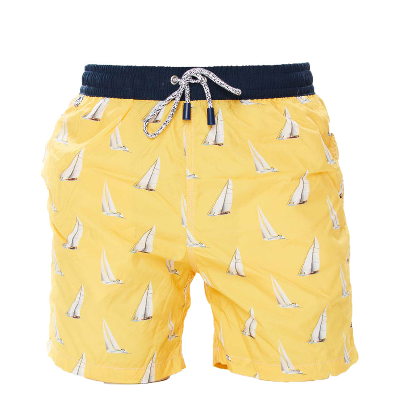 MS4121 - Sail boats yellow