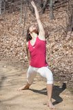 Womens Yoga Tank in Organic Cotton and Soy