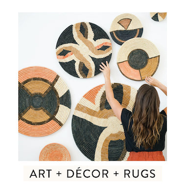 art + decor + rugs