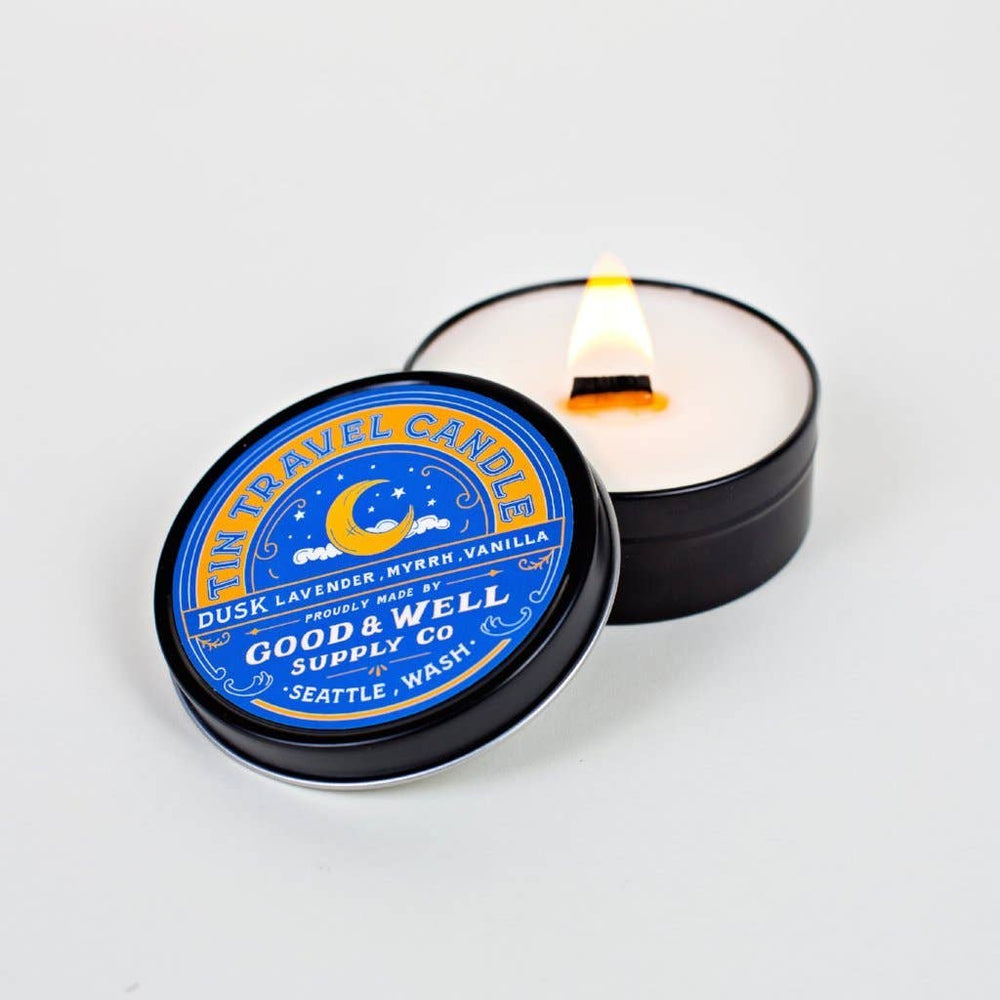 Dusk Tin Travel Candle