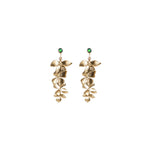 Jade Narcissa Earrings