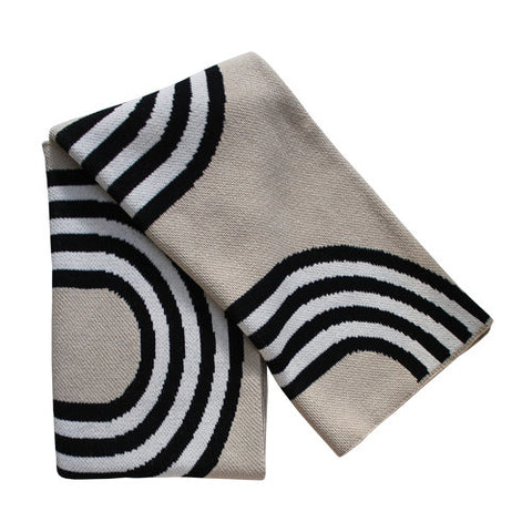 78th Street Recycled Cotton Throw