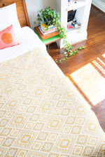Mustard Bed Cover
