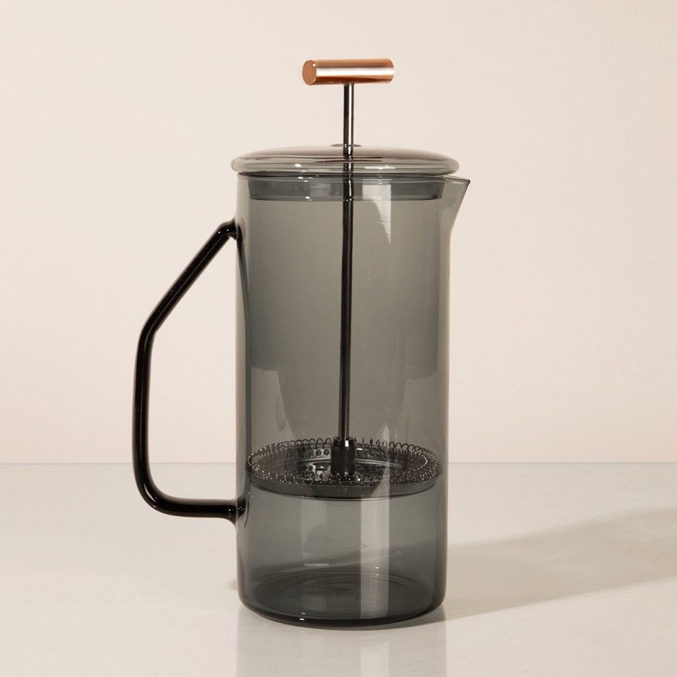 Gray French Press
