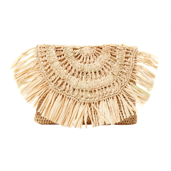 Natural Mia Clutch